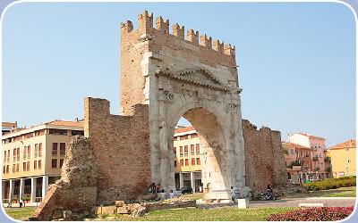 Informazioni storiche della Provincia di Rimini